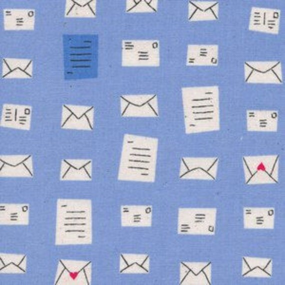 SS Bluebird by Cotton and Steel - Fat Quarter- Notes in Blue