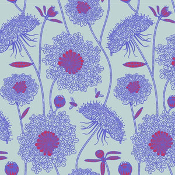 Sweet Dreams by Anna Horner for Free Spirit Fabrics - Lacey in Periwinkle