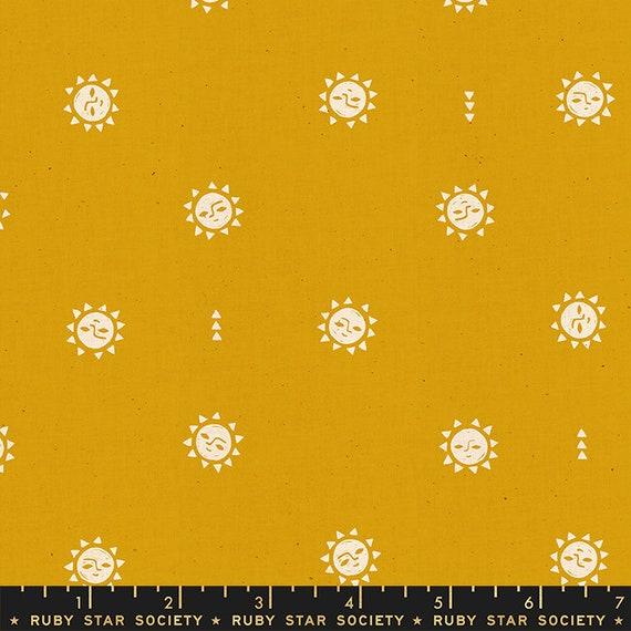 Golden Hour -- Sunrise in Goldenrod (RS4019-18) by Ruby Star Society for Moda -- Fat Quarter
