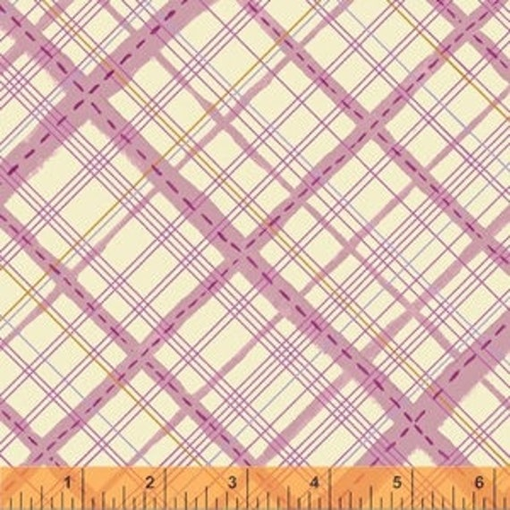 Meriwether by Amy Gibson for Windham Fabrics - Homespun in Berry - Fat Quarter