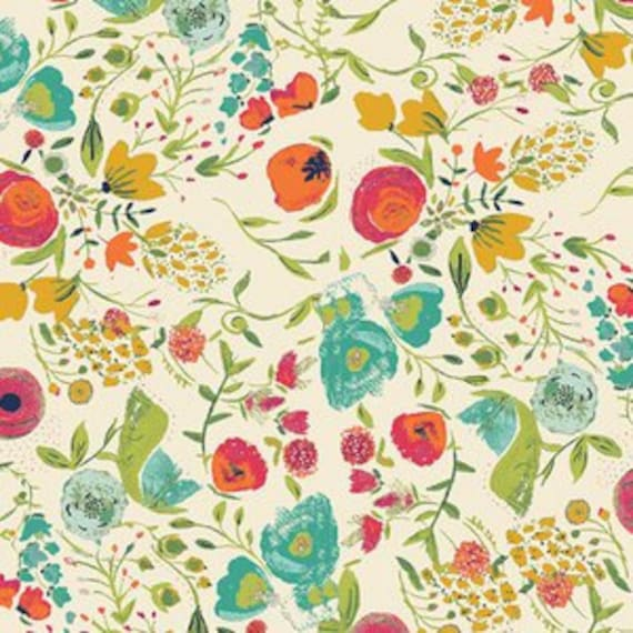 Abloom Fusion in Rayon by Art Gallery Fabrics - Buquette in Abloom -- Half metre