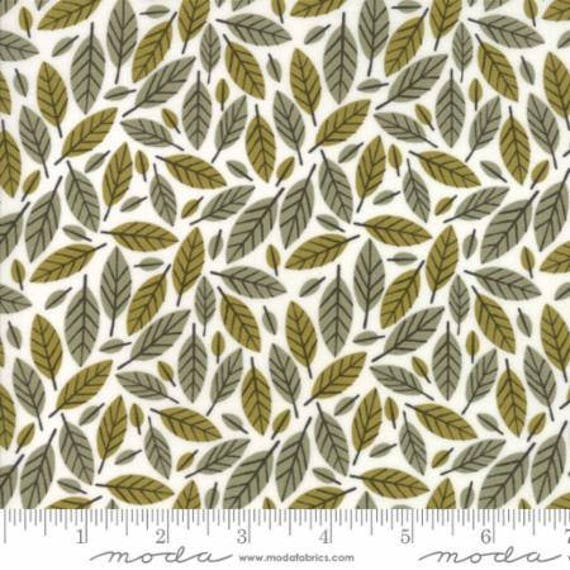 Moda Big Sky Stone Beech Leaf (1670222) by Annie Brady -- Fat Quarter