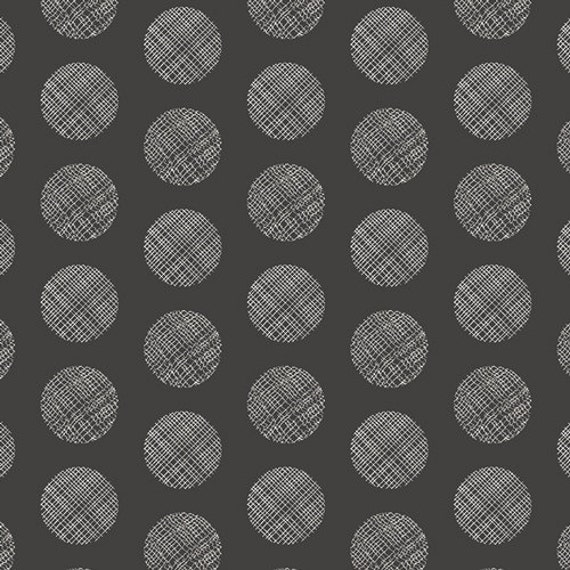 Chromatics by AGF Studio for Art Gallery Fabrics -Pointelle Noir