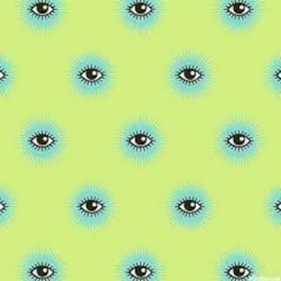 Fat Quarter I See You in Mystic  - Tula Pink's De La Luna Fabric for Free Spirit Fabrics