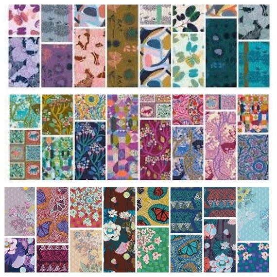 Complete Line of Conservatory Chapter 3  Fat Quarter Bundle  -- 45 in total