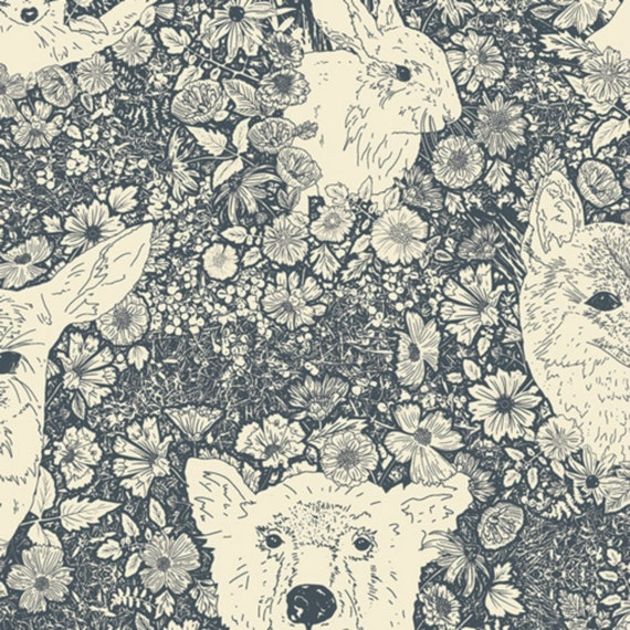 Open Road by Bonnie Christine for Art Gallery Fabrics - Wandering With Bear