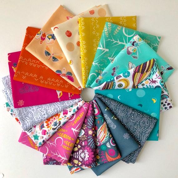 Fat Quarter Bundle of 16 Art Gallery Fabrics -- Lugu by Jessica Swift
