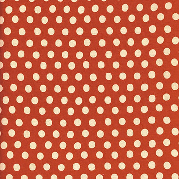 Kaffe Fassett -- Fat Quarter of Spots in Tomato