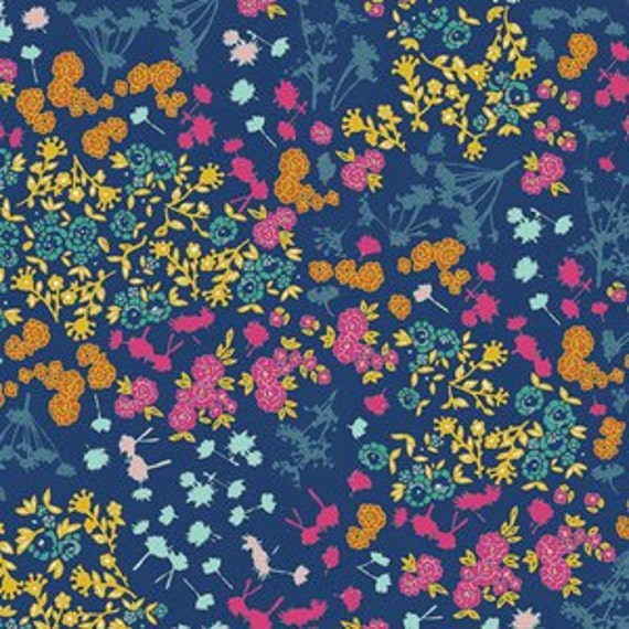 Abloom Fusion by Art Gallery Fabrics - Floret Stains in Abloom