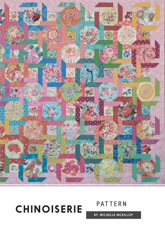 Chinoiserie Quilt - Pattern by Michelle McKillop for Jen Kingwell Collective
