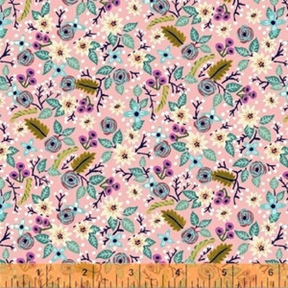 Meriwether by Amy Gibson for Windham Fabrics - Frolic in Petal - Fat Quarter