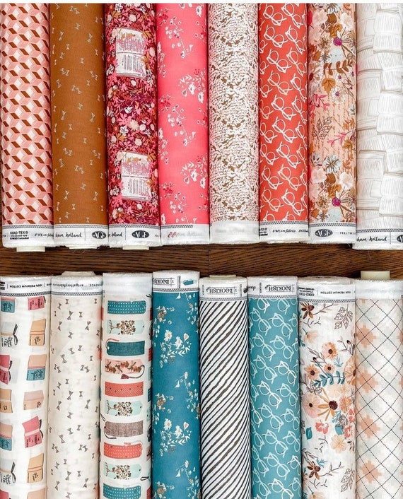 Bookish by Sharon Holland for Art Gallery Studio-  Fat Quarter Bundle of All 16 Prints