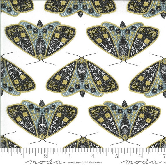 Dwell in Possibility-- Ivory Sky (48311 29M) by Gingiber for Moda -- Fat Quarter