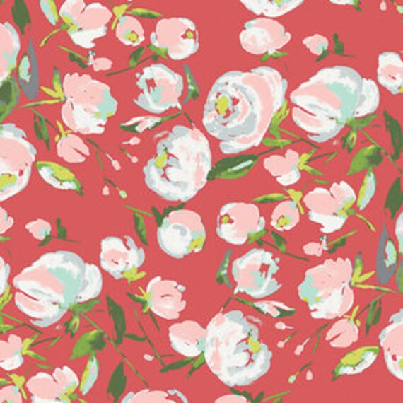 Wild Bloom by Bari J. Ackerman for Art Gallery Fabrics - Everlasting Blooms in Berry - Fat Quarter