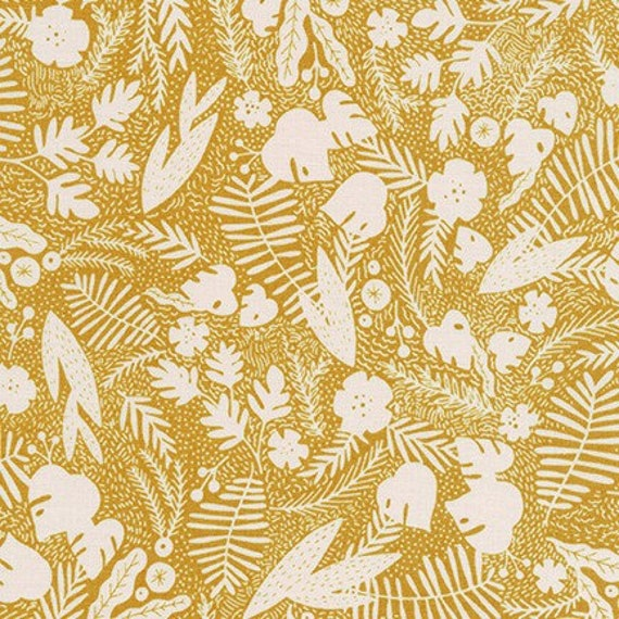 Robert Kaufman -  AIL-19560-170 SIENNA by Hello!Lucky from Wild and Free - Fat Quarter