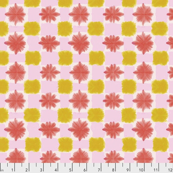 Long Distance by Courtney Cerruti for Anna Maria Horner Conservatory with Free Spirit Fabrics - Fat Quarter Tokyo Dreams in Parfait