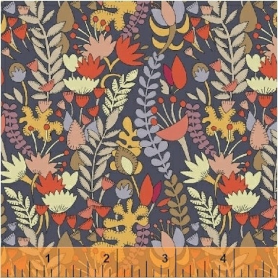Fantasy by Sally Kelly for Windham Fabrics - Fat Quarter of 51289-2