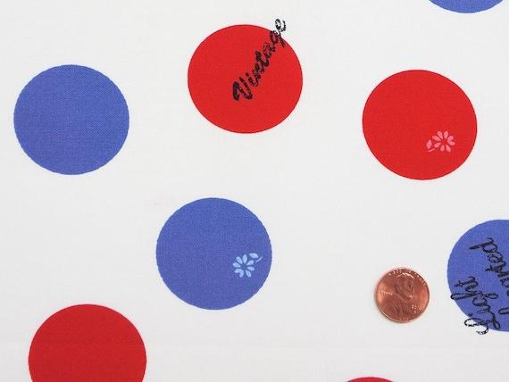 Lighthearted by Ayumi Takahashi for Kokka - Big Dot in White