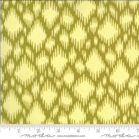 Moda Winkipop by Jen Kingwell -- Fat Quarter of 18194 20 Undercurrent in Kelp