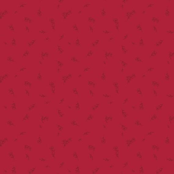The Flower Society for Art Gallery Fabrics - Dainty Fleuriste Ruby - Fat Quarter