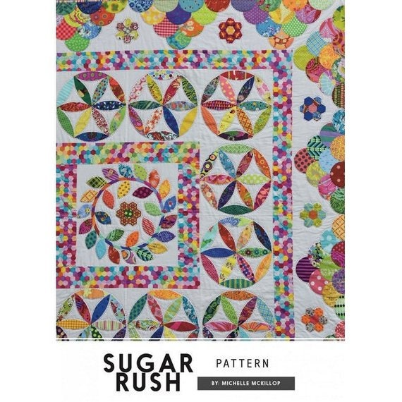 Sugar Rush Quilt - Pattern by Michelle McKillop for Jen Kingwell Collective