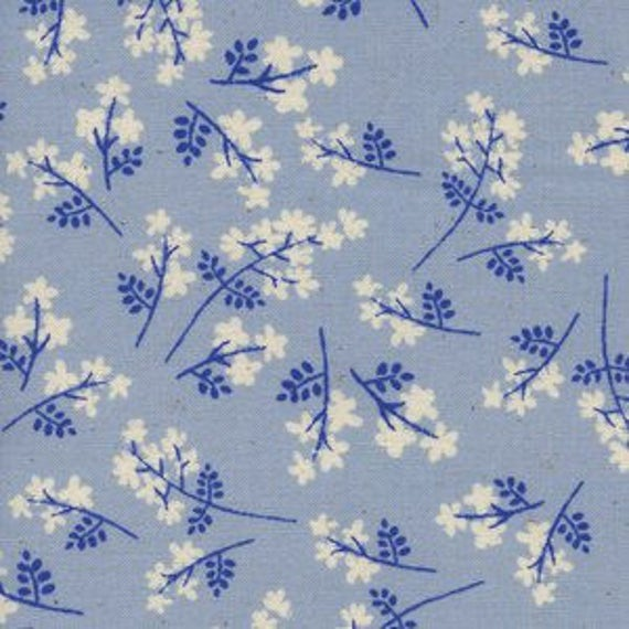 SS Bluebird by Cotton and Steel - Fat Quarter- Bouquet in Blue