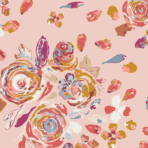 Rosewood Fusion by Maureen Cracknell for Art Gallery Fabrics - Swifting Flora - Fat Quarter