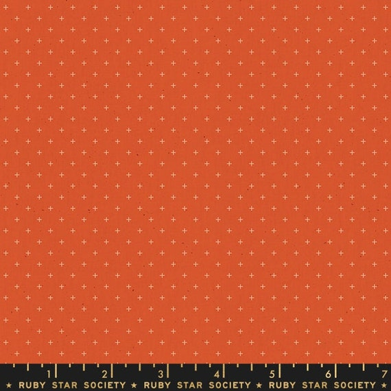 Add It Up and Alma by Alexia Marcelle Abegg -- Ruby Star Society Fabric, RS4005-19 Fat Quarter of Add It Up Rust