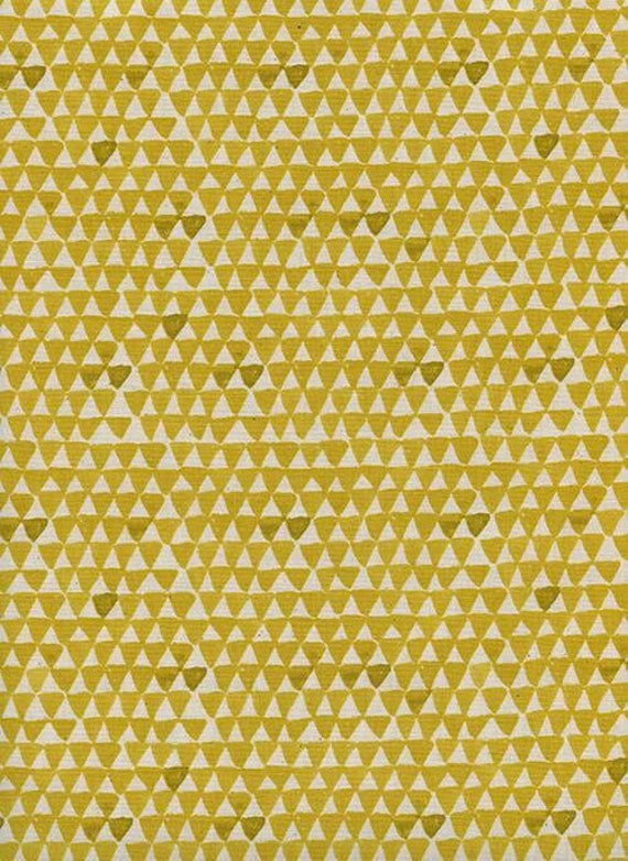 Sienna Mountain in Golden by Alexia Marcell Abegg for Cotton and Steel