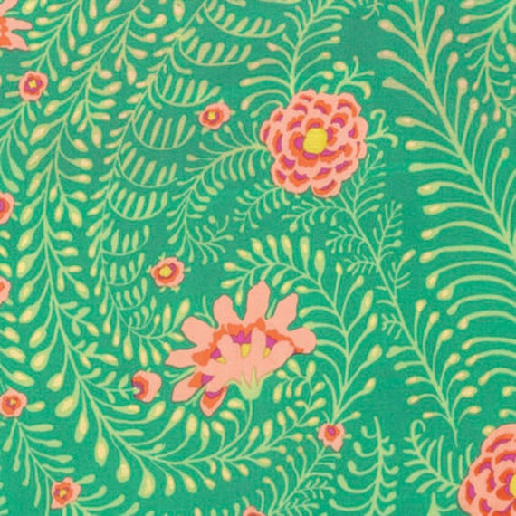 Kaffe Fassett Collective  -- Fat Quarter of Ferns in Green