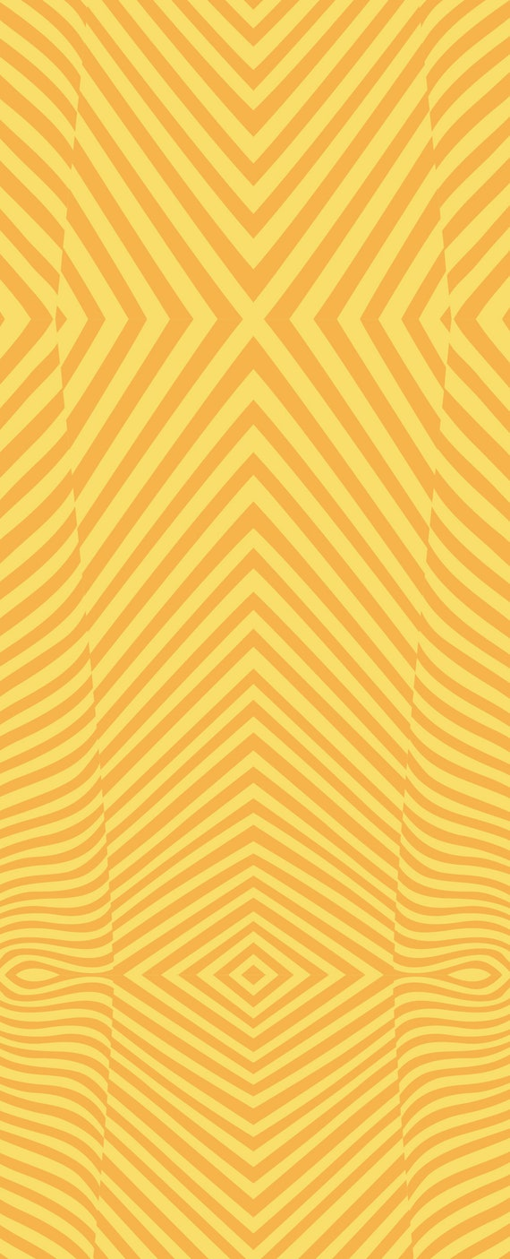 Fat Quarter Lazy Stripe in Amber - Tula Pink's True Colors 2015 for Free Spirit Fabrics