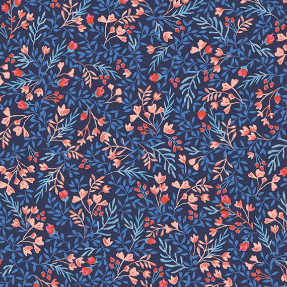 Sonata by Amy Sinibaldi for Art Gallery Fabrics - Floral No. 9 in Bold