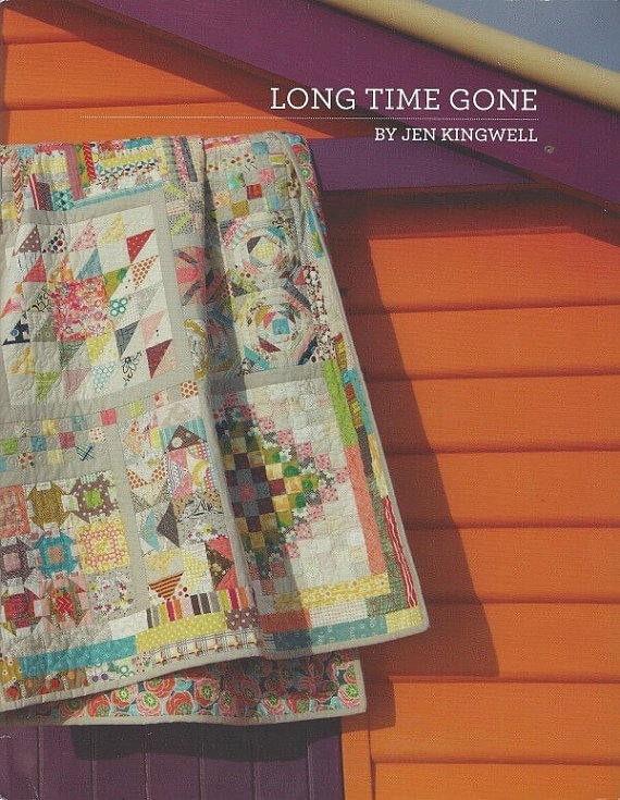 Long Time Gone - Pattern Booklet by Jen Kingwell