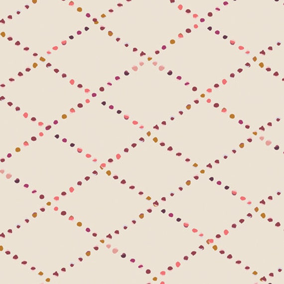 Rosewood Fusion by Maureen Cracknell for Art Gallery Fabrics - Bokeh Lattice - Fat Quarter