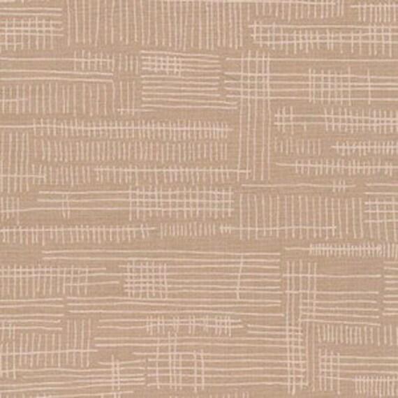 Carkai by Carolyn Friedlander -Stitches in Parchment - Fat Quarter