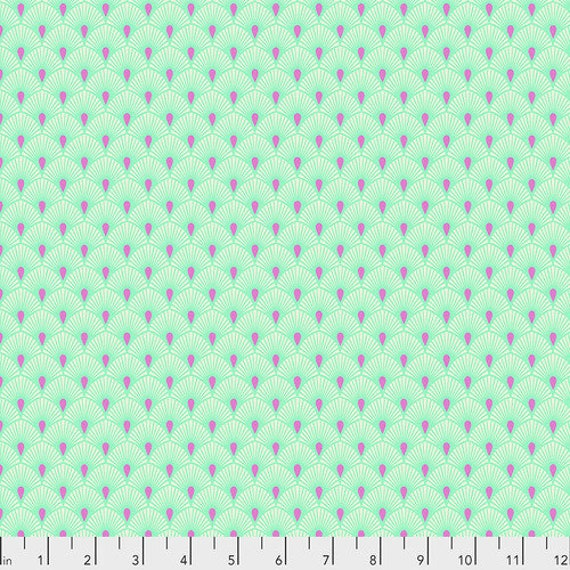 Fat Quarter Serenity in Cotton Candy - Tula Pink's Pinkerville for Free Spirit Fabrics