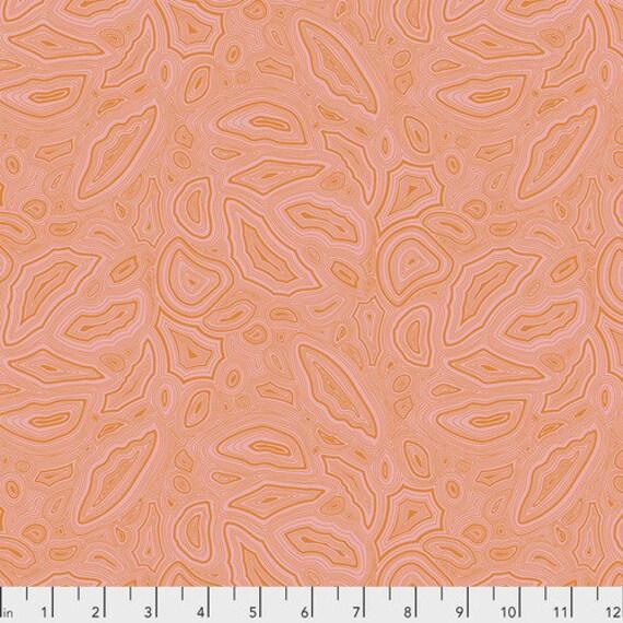 Fat Quarter Mineral in Morganite - Tula Pink's True Colors for Free Spirit Fabrics