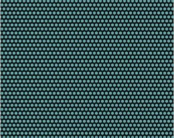 Uppercase by Janine Vangool for Windham Fabrics - Perforated in Turquoise - Fat Quarter
