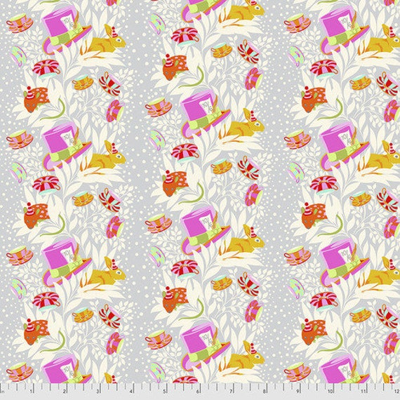 Fat Quarter 6PM Somewhere in Wonder - Tula Pink's Curiouser and Curiouser for Free Spirit Fabrics
