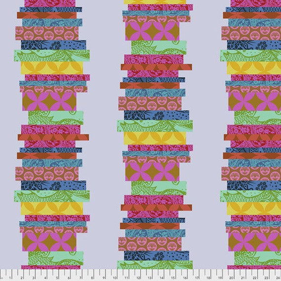Hindsight by Anna Maria Horner for Free Spirit Fabrics- Fat Quarter of The Classics in Punch
