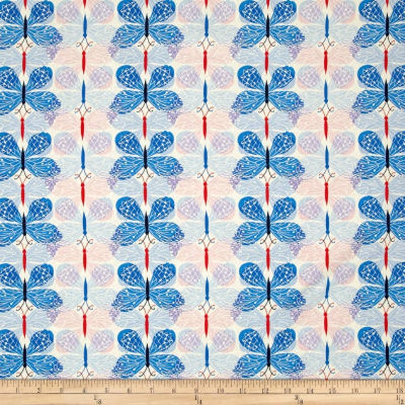 Beauty Shop -- Good Luck in Blue by Melody Miller and Sarah Watts for Cotton and Steel
