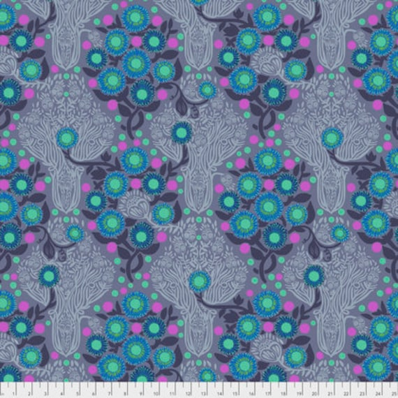 Passion Flower by Anna Horner for Free Spirit Fabrics - Imposter in Medievil