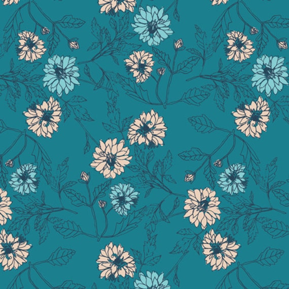 Everlasting by Sharon Holland for Art Gallery Fabrics -  Fat Quarter of Something Blue