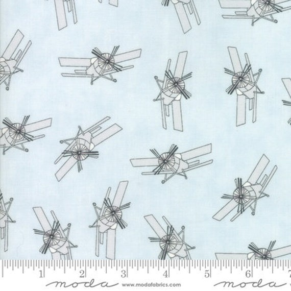 Moda Mighty Machines in Sky High (4902312)  -- Fat Quarter
