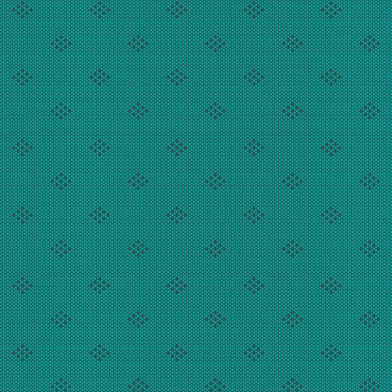 Entwine by Guicy Guice for Andover Fabrics - Fat Quarter of Intersect in Teal