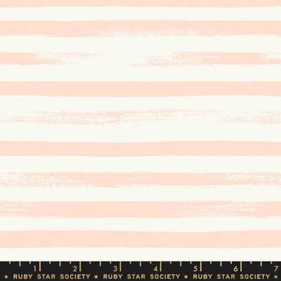 Pop and Zip. -- Zip in Pale Peach (RS100519) by Ruby Star Society for Moda -- Fat Quarter
