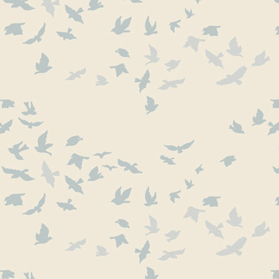 Serenity Fusion by Art Gallery Studio-  Fat Quarter of Aves Chatter Serenity