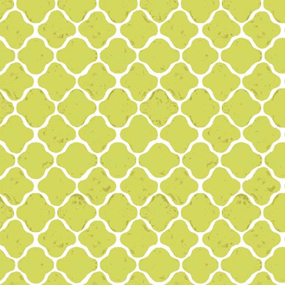 Floralish by Katarina Roccella for Art Gallery Fabrics -  Latticework in Verdant - Fat Quarter