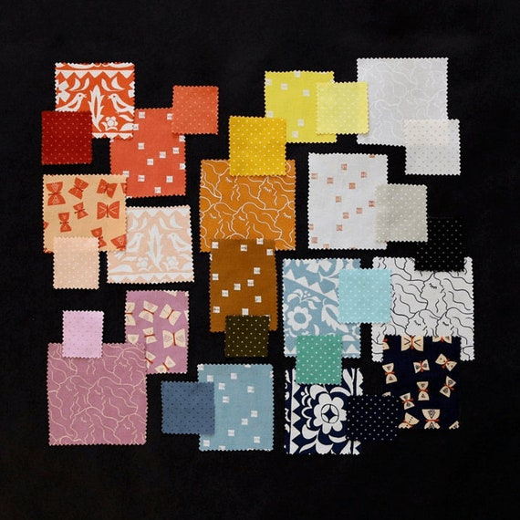 Add It Up and Alma- Complete Fat Quarter bundle by Alexcia Marcelle Abegg for Ruby Star Society for Moda -- 30 in Total