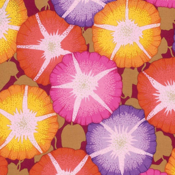 Kaffe Fassett Collective  -- Fat Quarter of Philip Jacobs Glory in Red